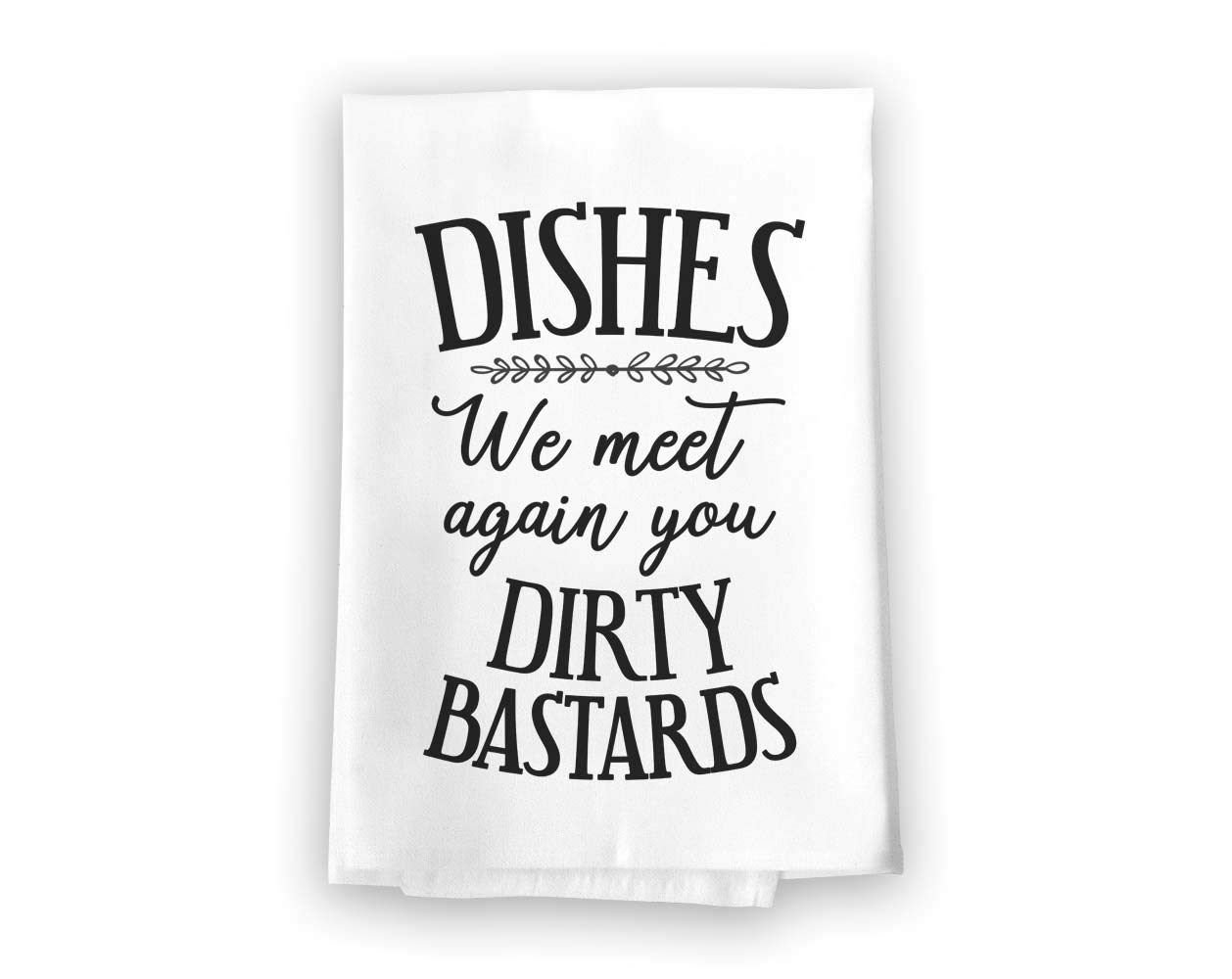 27 x 27 Inches Highly Absorbent Multi-Purpose Kitchen Dish Towel Honey Dew Gifts Dishes We Meet Again Flour Sack Towel 100/% Cotton