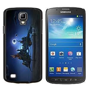 LECELL--Funda protectora / Cubierta / Piel For Samsung Galaxy S4 Active i9295 -- Ciudad de la fantasía en el cielo --