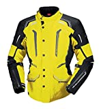 IXS Men's Criton Jacket (Hi-Viz Yellow/Black, XXX-Large)