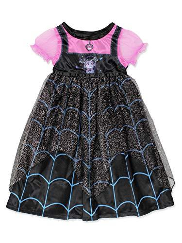 Disney Vampirina Girls Toddler Fantasy Nightgown Pajamas Black/Pink