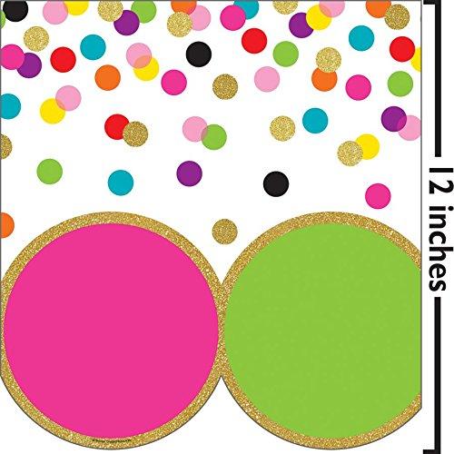 Teacher Created Resources Confetti Big Big Border (TCR8980) by Teacher Created Resources