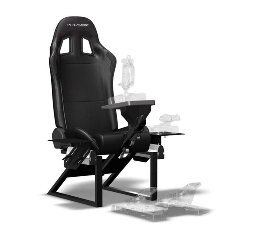 PLAYSEAT Air Force Flight Simulator Video Game Chair for Nintendo Xbox Playstation CPU Supports Logitech Thrustmaster Saitek Flight Stick Controllers