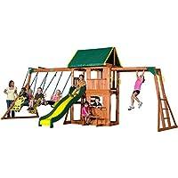 Backyard Prairie Ridge Cedar Swing Set