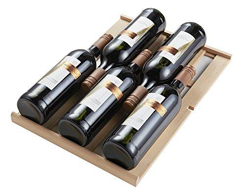 Phiestina 33 Bottle Wine Cooler Double Zone Steel Door with Handle by phiestina (Image #6)