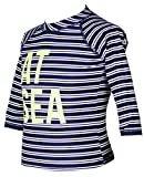Stripe Sailing Boat Long-Sleeve Rash Guard Swim