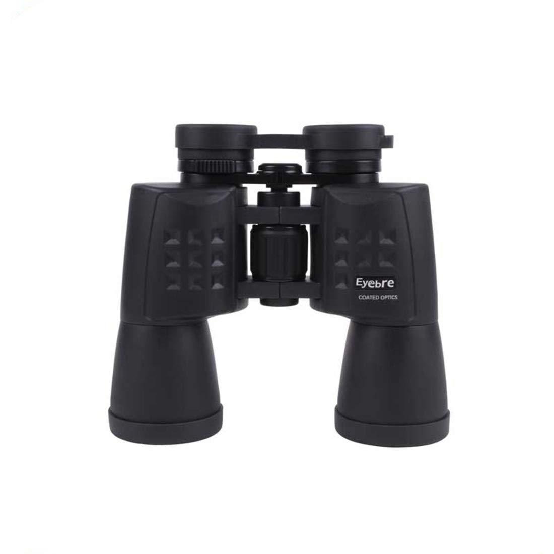 JPAKIOS ハイパワー防水双眼鏡屋外用10X50高精細低照度ナイトビジョン望遠鏡を見る (Color : ブラック) B07PJN34M8 ブラック