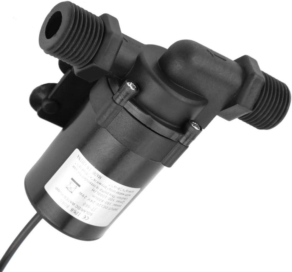 Dc 24v Brushless Wasserpumpe Für Solarwarmwasserbereiter 40 100 500 1000l H Baumarkt