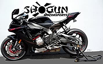 Shogun 2015-2019 Yamaha YZF-R1 YZF-R1M YZF-R1S Black No Cut Frame Sliders 750-6759 MADE IN THE USA