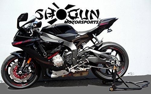 2015 2019 Yamaha Yzf R1 Yzf R1m Yzf R1s Black No Cut Frame