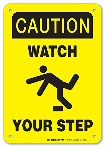 Caution Watch Your Safety Sign