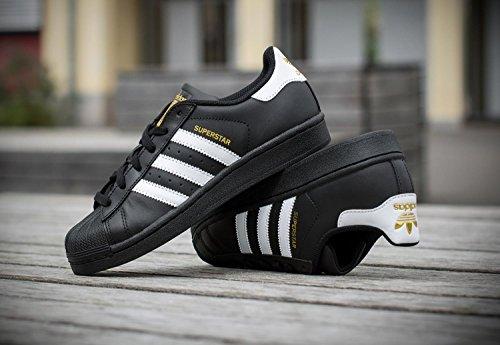 Ftwr Core Black Herren White adidas Superstar Schwarz Black Foundation Sneakers Core qgFS0z