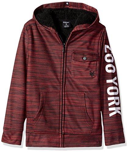 zoo york sherpa hoodie - 1