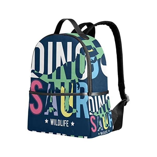 Dinosauro blu navy zaino per donne adolescenti ragazze borsa alla moda borsa libreria bambini viaggio università casual… 1 spesavip
