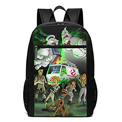 Cheny Ghostbusters Kids Lightweight Canvas Travel Backpacks School Book Bag 17 Inch Black: Clothing