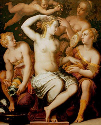 kunst für alle Art Print/Poster: Giorgio Vasari Toilet of Venus Picture, Fine -