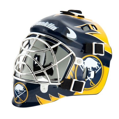 Buffalo Helmet (Franklin Sports NHL League Logo Buffalo Sabres Mini Goalie Mask)