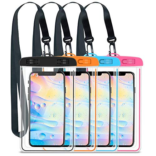 elecnewell IPX8 Waterproof Phone Pouch up to 6.5
