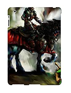 Ipad 2/3/4 Ikey Case Cover Skin : Premium High Quality The Legend Of Zelda Ocarina Of Time Case(nice Choice For New Year's Day's Gift)