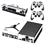 L'Amazo Best Sport fans American football basketball baseball style XBOX ONE Designer Skin Game Console System p 2 Controller Decal Vinyl Protective Covers Stickers for XBOX ONE (Street Air)