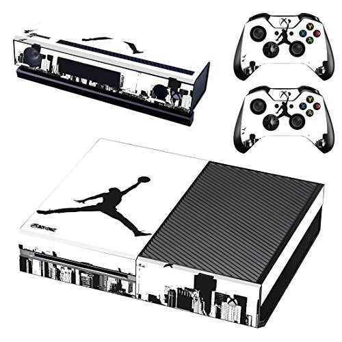 L'Amazo Best Sport fans American football basketball baseball style XBOX ONE Designer Skin Game Console System p 2 Controller Decal Vinyl Protective Covers Stickers for XBOX ONE (Street Air) by L'Amazo