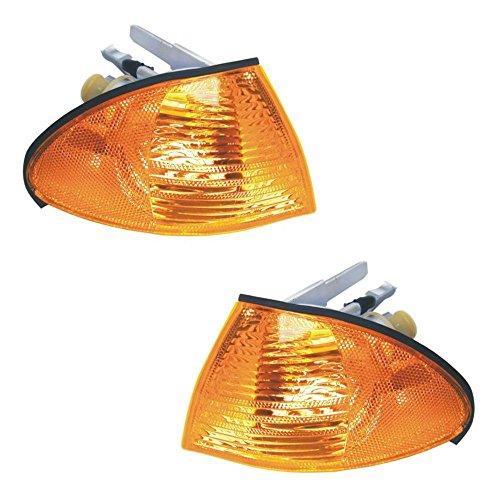 - Pair Corner Light Turn signal Lamp Driver Passenger Side Fits BBMMW E46 Sedan