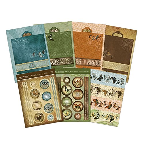 (Hunkydory Flight of the Butterflies Parchment Trail Premium Cards Card)