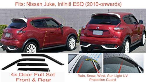 Aurilis Original Roof Rack Railings Nissan Juke Hatchback 5 Door From 03//2010+