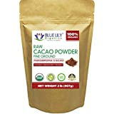 Cacao Powder - 2 lb - Certified Organic, Unsweetened, Antioxidant Superfood, Made from the BEST tasting PREMIUM Criollo Cacao Beans