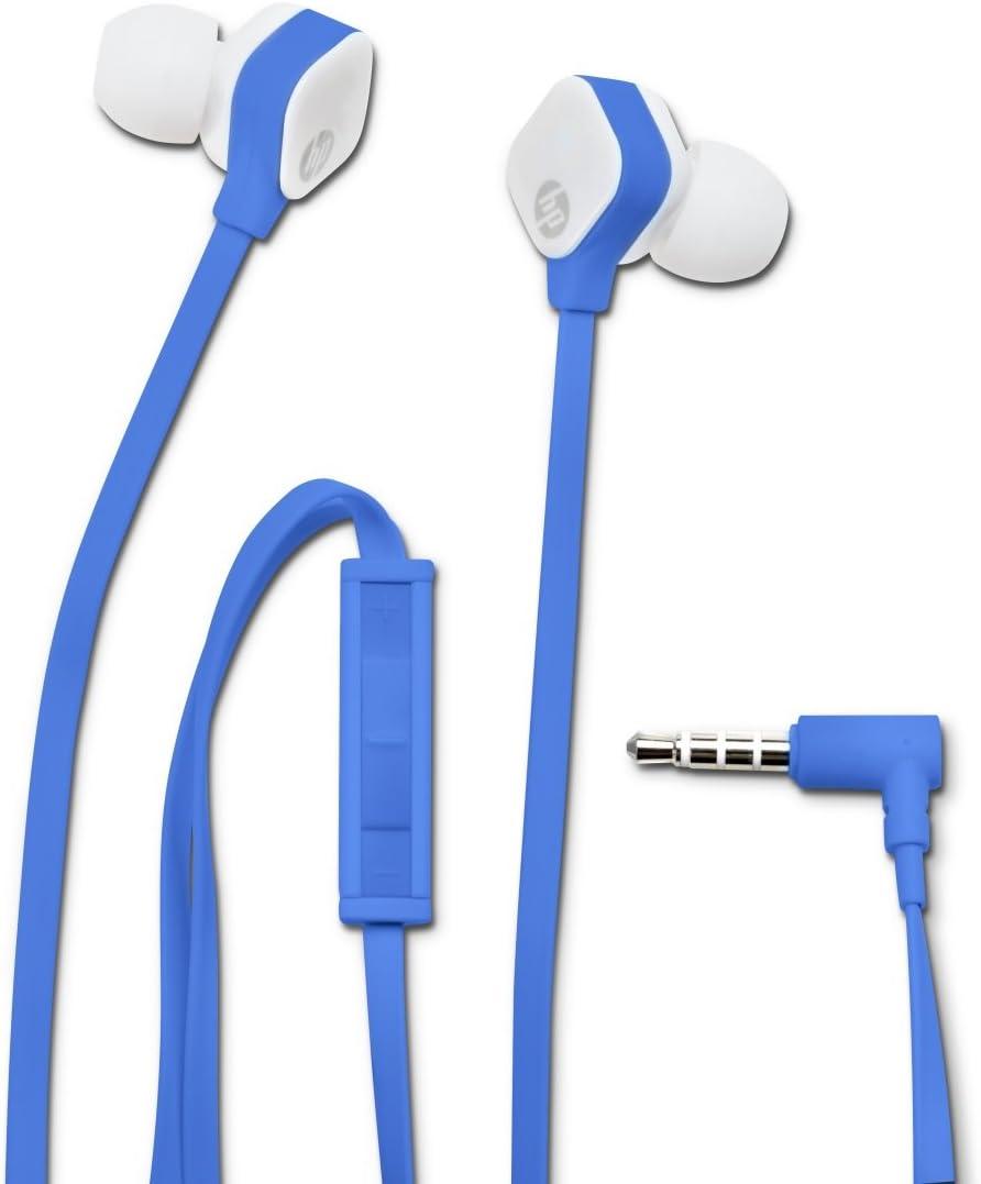 HP H2310 In-Ear Headset - Auriculares Stereo de Color Azul Claro ...