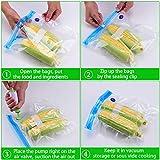 Sous Vide Bags 30 Reusable Vacuum Food Storage Bags