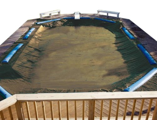 Ig Pool Covers (PoolTux BT1428R Emperor Winter Cover for 14-Feet by 28-Feet Inground Pool)