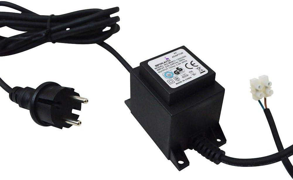 ledscom.de 40W LED Trafo-Netzteil f/ür IP44 Stecksystem Transformator 24V AC