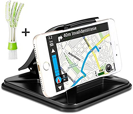 Phone Holder Compatible All Qi-Enabled AFUNTA Wireless Charger Car Mount