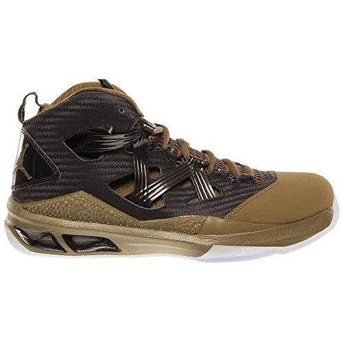 Nike Jordan Mens Melo M9 Basketskor-svart / Squadrongreen-10