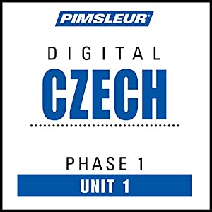 Czech Phase 1, Unit 01 Hörbuch