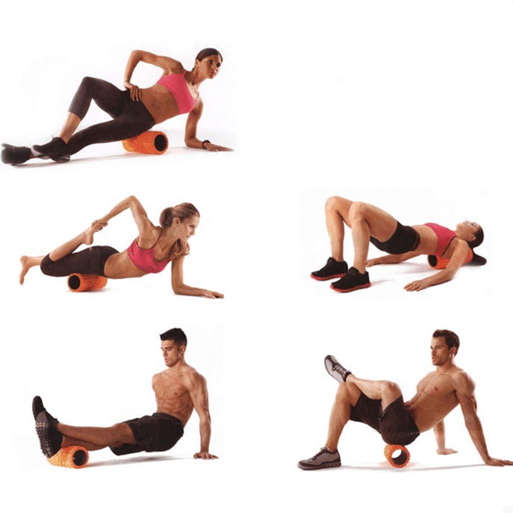 1694d3a2106616 Fitness KKCD Schaumstoffrolle 30X14CM High Density Foam Roller Fitness Foam  Roller für Tiefe Gewebe Muskelmassage Muskelentspannung ...