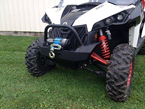 2012-2015 Can-Am Maverick and MAX Front Brush Guard with winch mount 12629 by Extreme Metal Products
