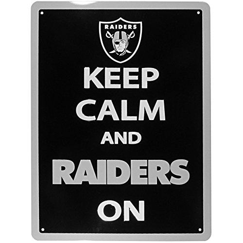 (NFL Oakland Raiders Keep Calm Sign)