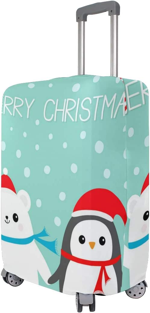 Diy Christmas Decorations Travel Luggage Protector Case Suitcase Protector For Man/&Woman Fits 18-32 Inch Luggage