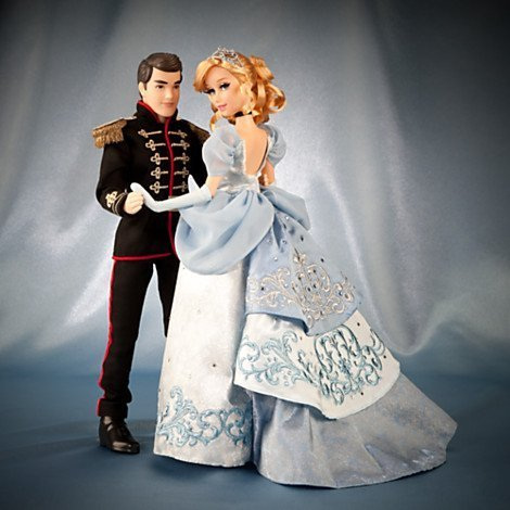 Cinderella and Prince Charming Doll Set - Disney