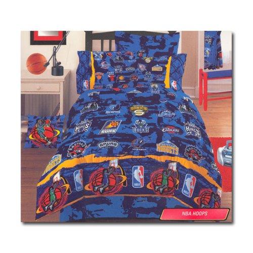 Dan River Bedskirt - NBA Hoops Twin Bedskirt