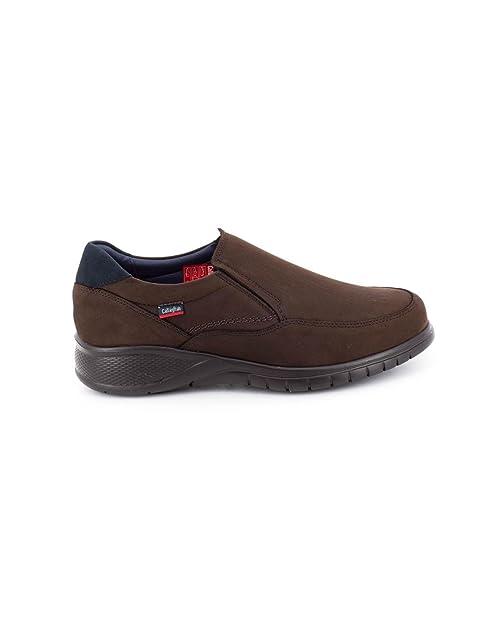 Callaghan Mocasin de Piel Marron 12701: Amazon.es: Zapatos y complementos