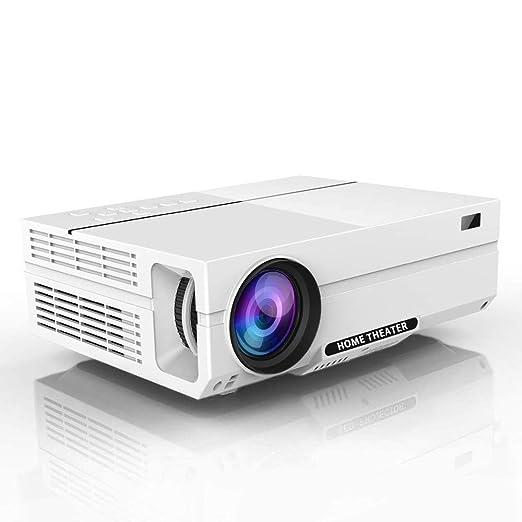 AI LIFE Proyector 1080P Proyector de Video HD con 1920x1080P 5500 ...
