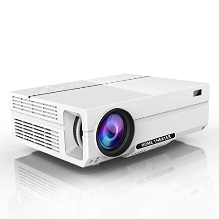 AI LIFE Proyector 1080P Proyector de Video HD con 1920x1080P ...