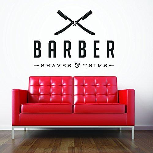 Sticker Bedroom Barber COMPANY scissors product image