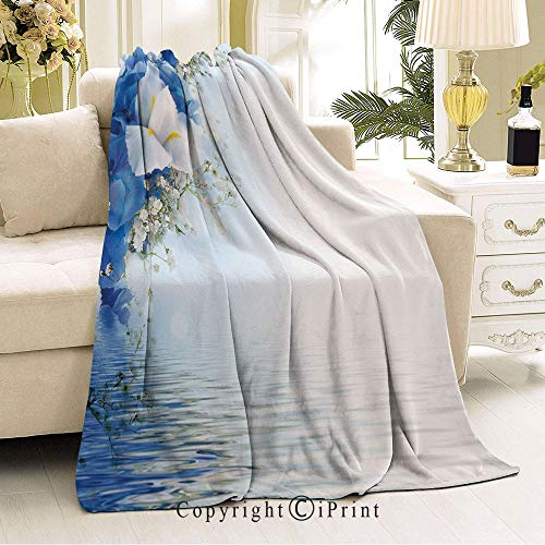Dreamy Hydrangea (RWNFA Boy and Girl Blanket,Ideal for bedrooms,Sofas,36