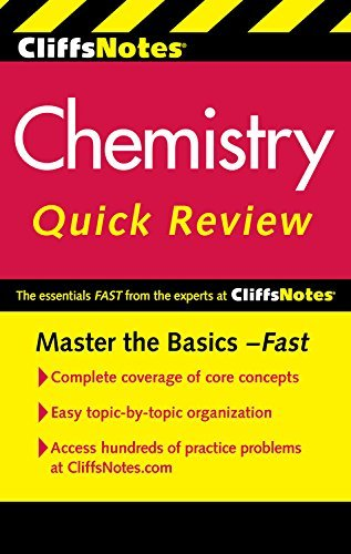 CliffsNotes Chemistry Quick Review, 2nd Edition (Cliffsquickreview) by Ford, Robyn L, Henrickson, Charles, Nathan, Harold D (June 17, 2011) Paperback