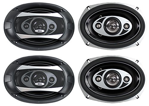 """4) NEW BOSS AUDIO P694C 6x9"""" 4-Way 800W Car Coaxial Stereo S"""