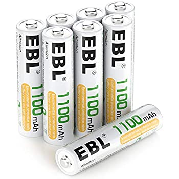 Amazon.com: EBL 16 Sets AA AAA Batteries Combo with 8PCS AA ...