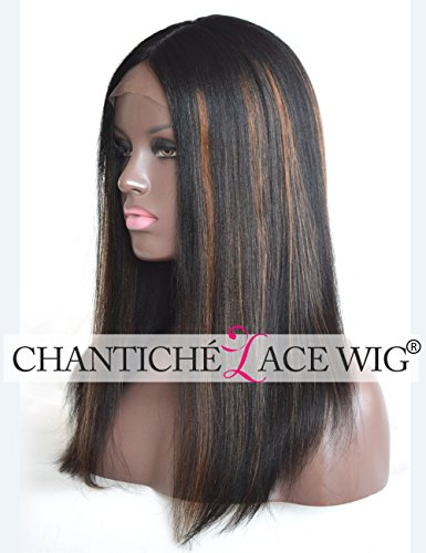 Chantiche Lace Wig Invisible Highlights